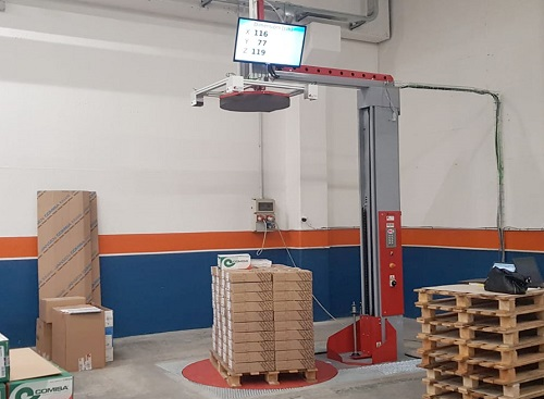 RAPIDO 3D > PESO E VOLUME DEL PALLET IN POCHI SECONDI > QUI IL VIDEO